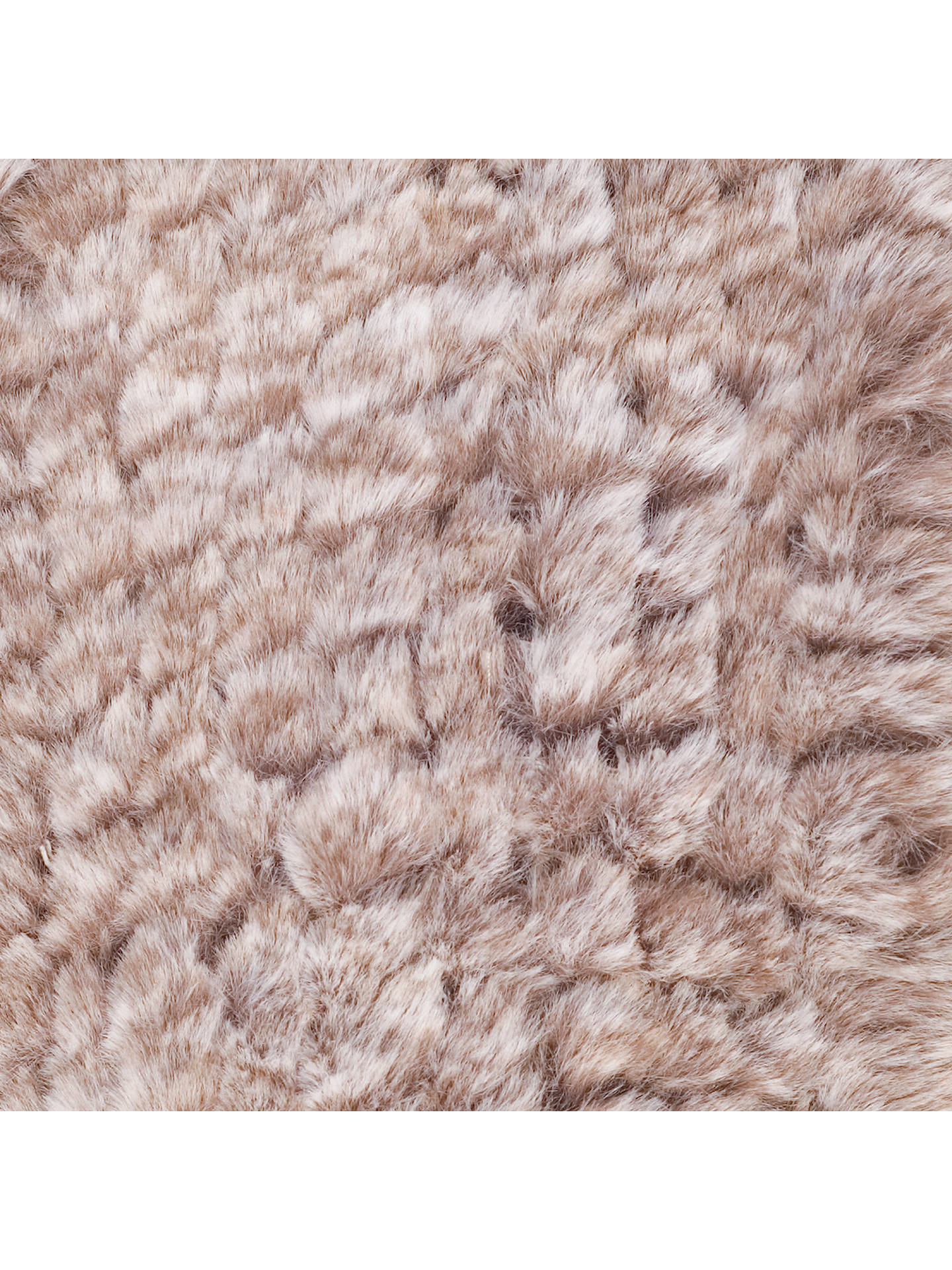 BuyChesca Faux Fur Collar, Fawn Online at johnlewis.com