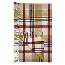 Buy Bronte by Moon Wallace Check Throw Online at johnlewis.com