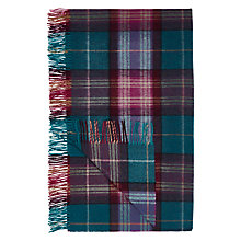 Buy Bronte by Moon Midnight Check Throw Online at johnlewis.com