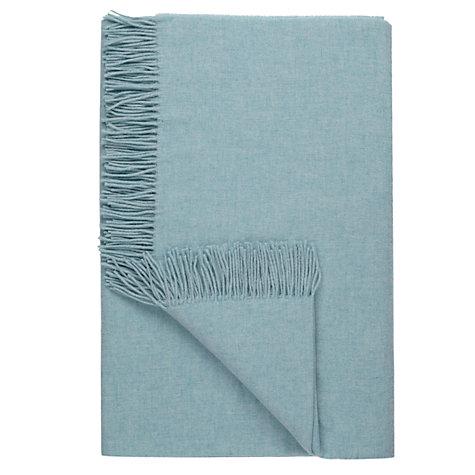 buy john lewis plain wool throw john lewis. Black Bedroom Furniture Sets. Home Design Ideas