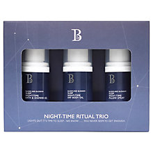 Buy Bloom and Blossom Night Time Ritual Trio Online at johnlewis.com