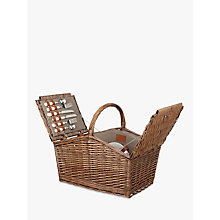 Buy John Lewis Croft Collection Filled Picnic Hamper, 4 Person Online at johnlewis.com
