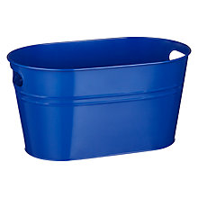 Buy John Lewis Beer Bucket, Blue Online at johnlewis.com
