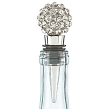 Buy kate spade new york Jewel Bottle Stopper, Silver Online at johnlewis.com