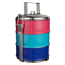 Buy John Lewis Dakara Tiffin Box Online at johnlewis.com