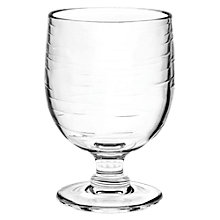 Buy Eddingtons Salud Stacking Picnic Wine Glass, Clear, 275ml Online at johnlewis.com