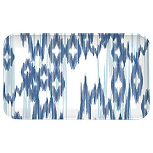 Buy Eddngtons Ikat Melamine Serving Tray, Large Online at johnlewis.com