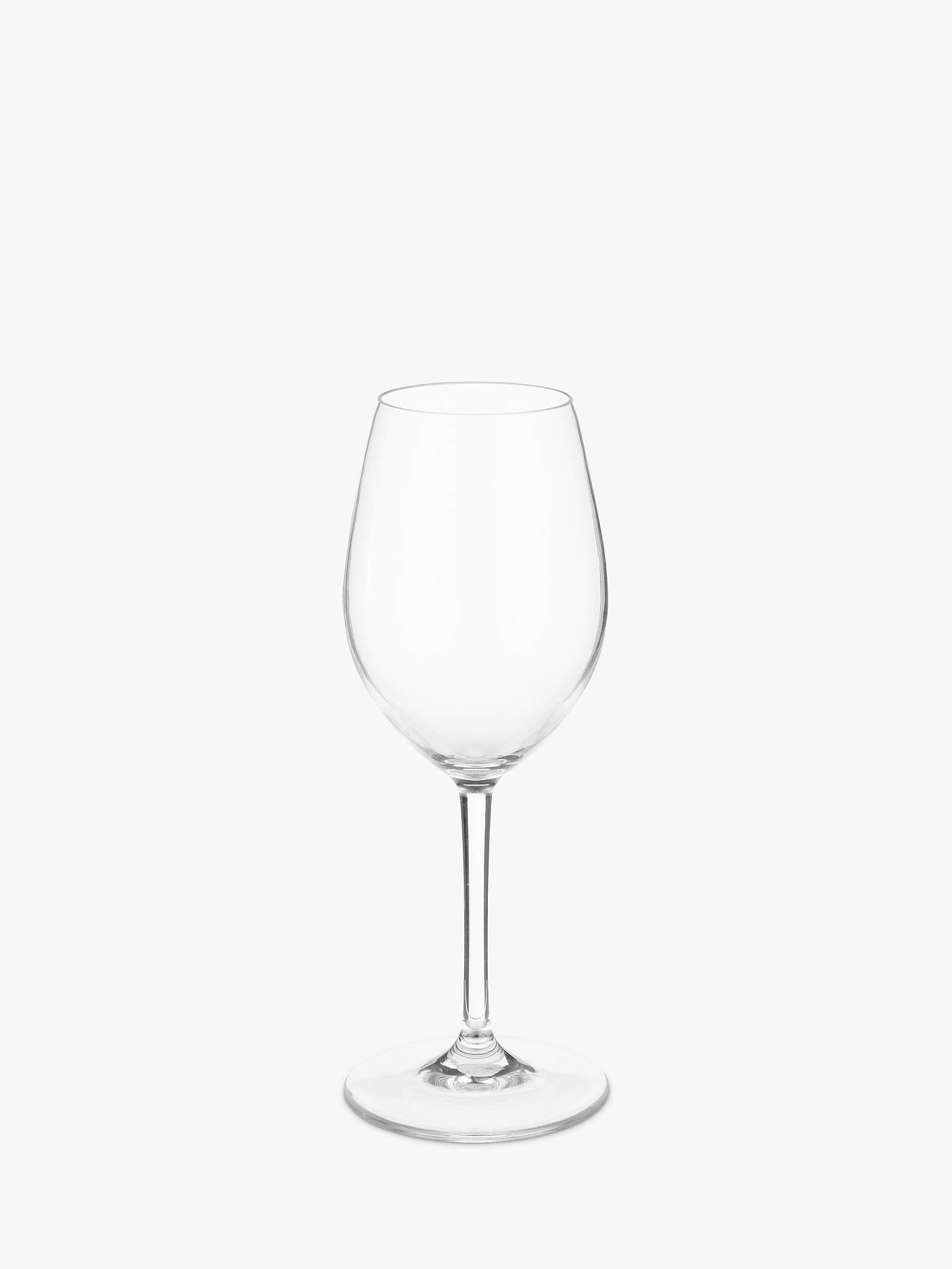 john lewis partners acrylic white wine glass at john. Black Bedroom Furniture Sets. Home Design Ideas