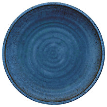 Buy Eddingtons Artisan Melamine Dinner Plate, Indigo Online at johnlewis.com