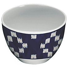 Buy Eddingtons Mistral Melamine Dipping Bowl, Kyoto Blue Diamond Online at johnlewis.com