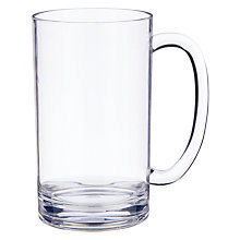 Buy John Lewis Acrylic Beer Mug Online at johnlewis.com