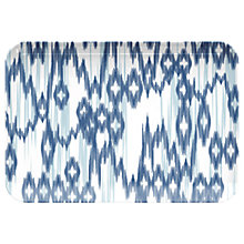 Buy Eddngtons Ikat Melamine Serving Tray, Small Online at johnlewis.com