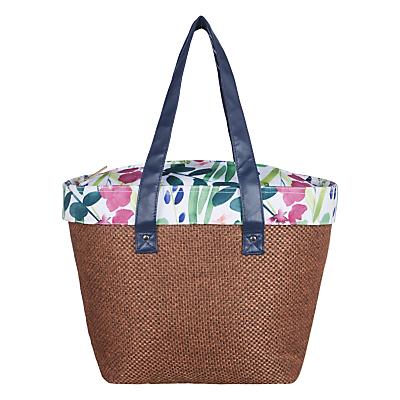 John Lewis Country Hessian Tote Coolbag