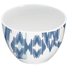 Buy Eddingtons Mistral Melamine Dipping Bowl, Kyoto Blue Ikat Online at johnlewis.com