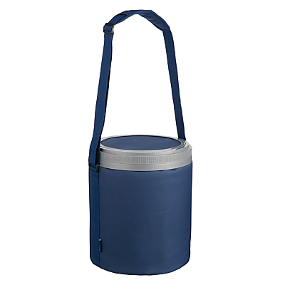 John Lewis Barrel Cooler Bag & Seat, Navy