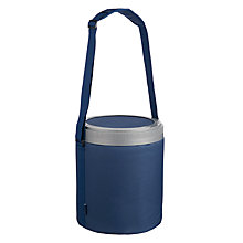 Buy John Lewis Barrel Cooler & Seat, Navy Online at johnlewis.com