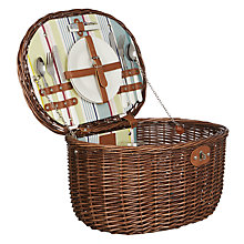 Buy John Lewis Luxury 2 Person Picnic Hamper Online at johnlewis.com