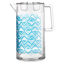 Buy John Lewis Dakara Print Plastic Pitcher Online at johnlewis.com