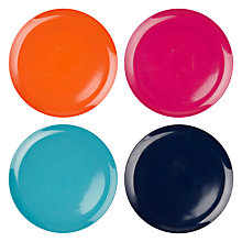 Buy John Lewis Dakara Melamine 25cm Dinner Plates, Set of 4 Online at johnlewis.com
