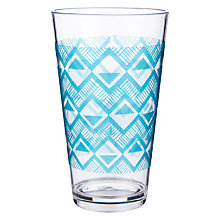 Buy John Lewis Dakara Print Plastic Highball Online at johnlewis.com