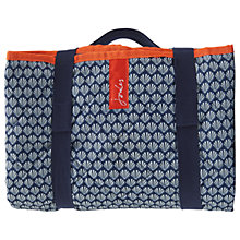 Buy Joules Navy Shells Picnic Rug Online at johnlewis.com