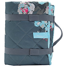 Buy Joules Grey Floral Picnic Rug Online at johnlewis.com
