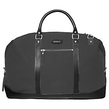 Buy Sandqvist Grand Canvas Holdall, Beluga Green Online at johnlewis.com