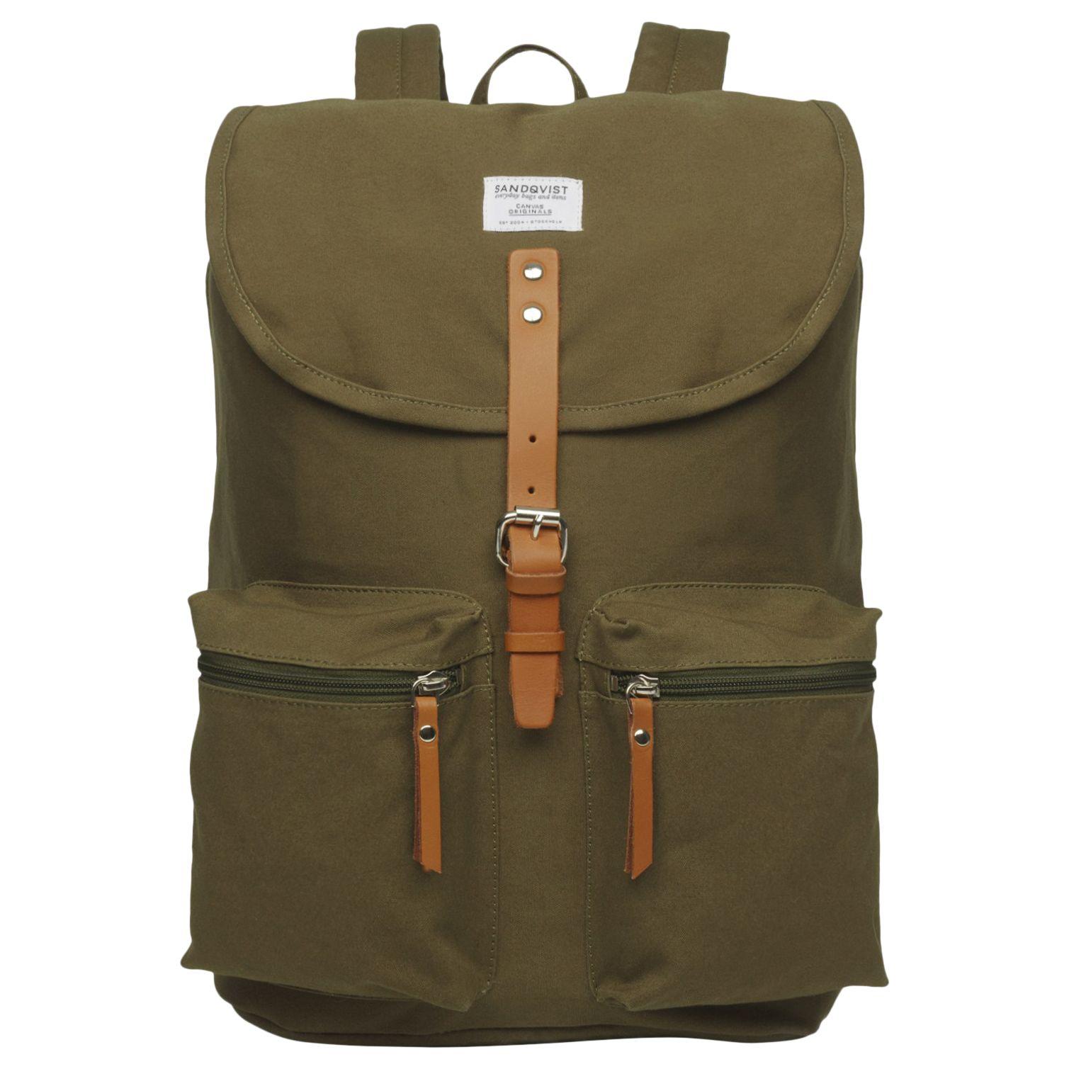 Sandqvist Sandqvist Roald Ground Organic Cotton Backpack