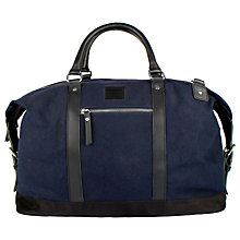 Buy Sandqvist Jordan Waxed Holdall Online at johnlewis.com