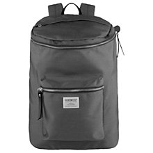Buy Sandqvist Tobias Urban Backpack, Dark Grey Online at johnlewis.com