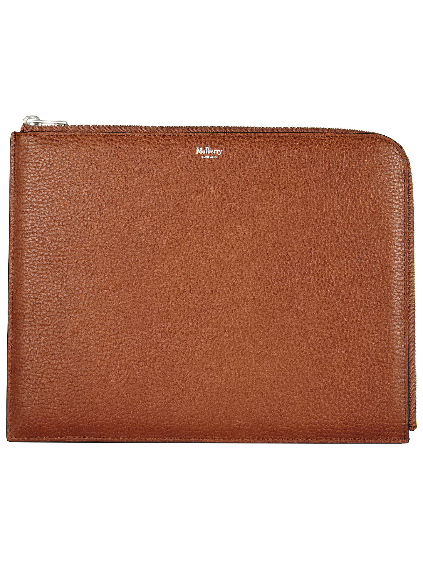 a412f018ed Buy Mulberry Leather Tech Pouch, Oak Online at johnlewis.com ...