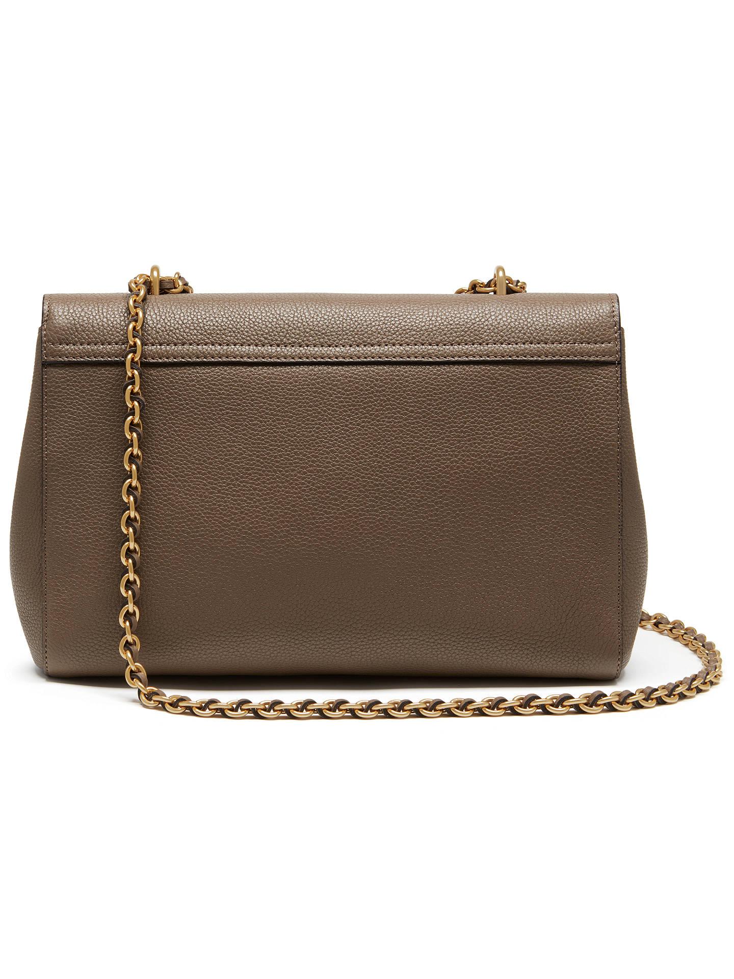 9d0747a278dc Mulberry Medium Lily Leather Shoulder Bag at John Lewis   Partners
