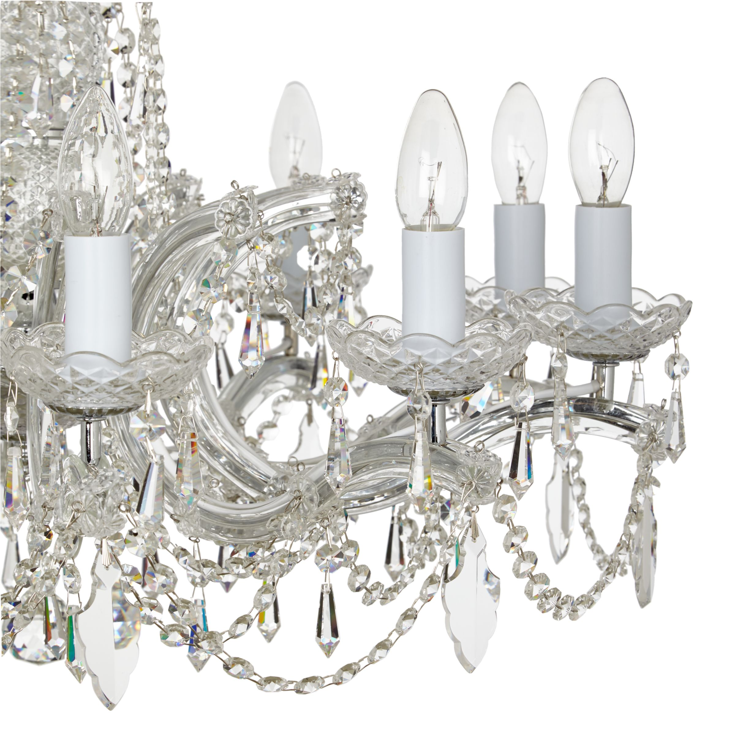 Impex Marie Theresa Chandelier 10 Arm Crystal At John Lewis Partners