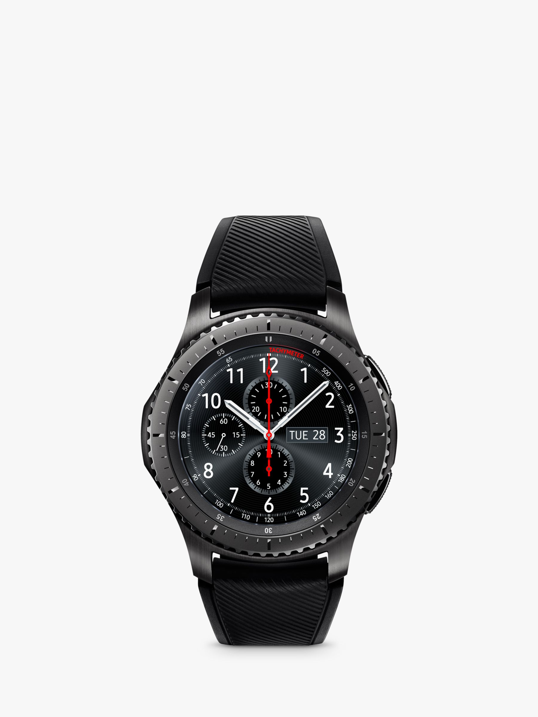 7ffa0e042c4 Samsung Gear S3 Frontier Smartwatch with Active Silicon Band