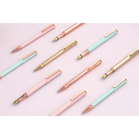 Buy Ted Baker Ballpoint Rose Gold Pen Online at johnlewis.com