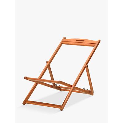 John Lewis & Partners Deckchair Frame, FSC-Certified (Eucalyptus)