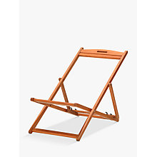 Buy John Lewis Deckchair Frame, FSC-Certified (Eucalyptus) Online at johnlewis.com