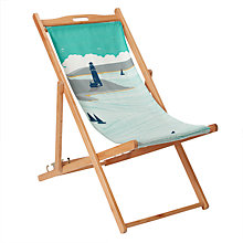 Buy John Lewis Newfoundland 'Lighthouse' Deckchair, FSC-Certified (Eucalyptus) Online at johnlewis.com