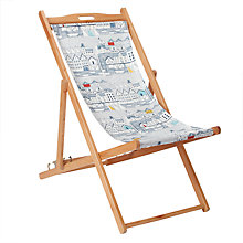 Buy John Lewis 'Nordic Harbour' Deckchair, FSC-Certified (Eucalyptus), Multi Online at johnlewis.com