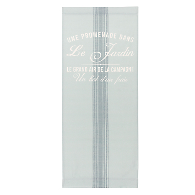 John Lewis 'Maison Stripe' Deckchair Sling, Blue/Grey