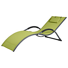 Buy LG Outdoor Dali Sunlounger, Green Online at johnlewis.com