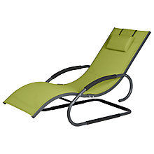 Buy LG Outdoor Dali Bouncer Sunlounger, Green Online at johnlewis.com