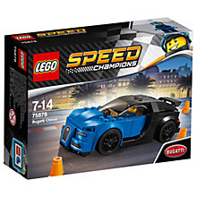 Buy LEGO Speed Champions 75878 Bugatti Chiron Online at johnlewis.com