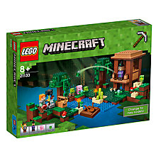 Buy LEGO Minecraft 21133 The Witch Hut Online at johnlewis.com