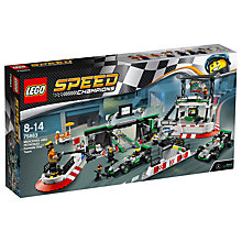 Buy LEGO Speed Champions 75883 Mercedes AMG Petronas Formula One Team Online at johnlewis.com