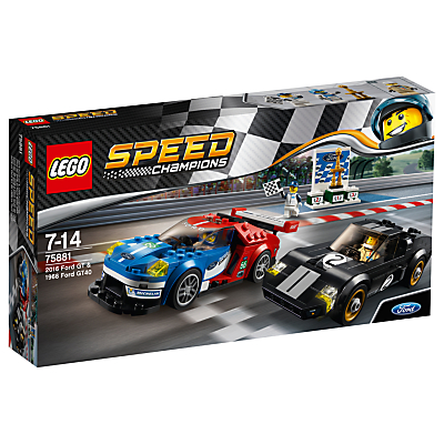 Image of LEGO Speed Champions 75881 Ford GT & 96 Ford GT40