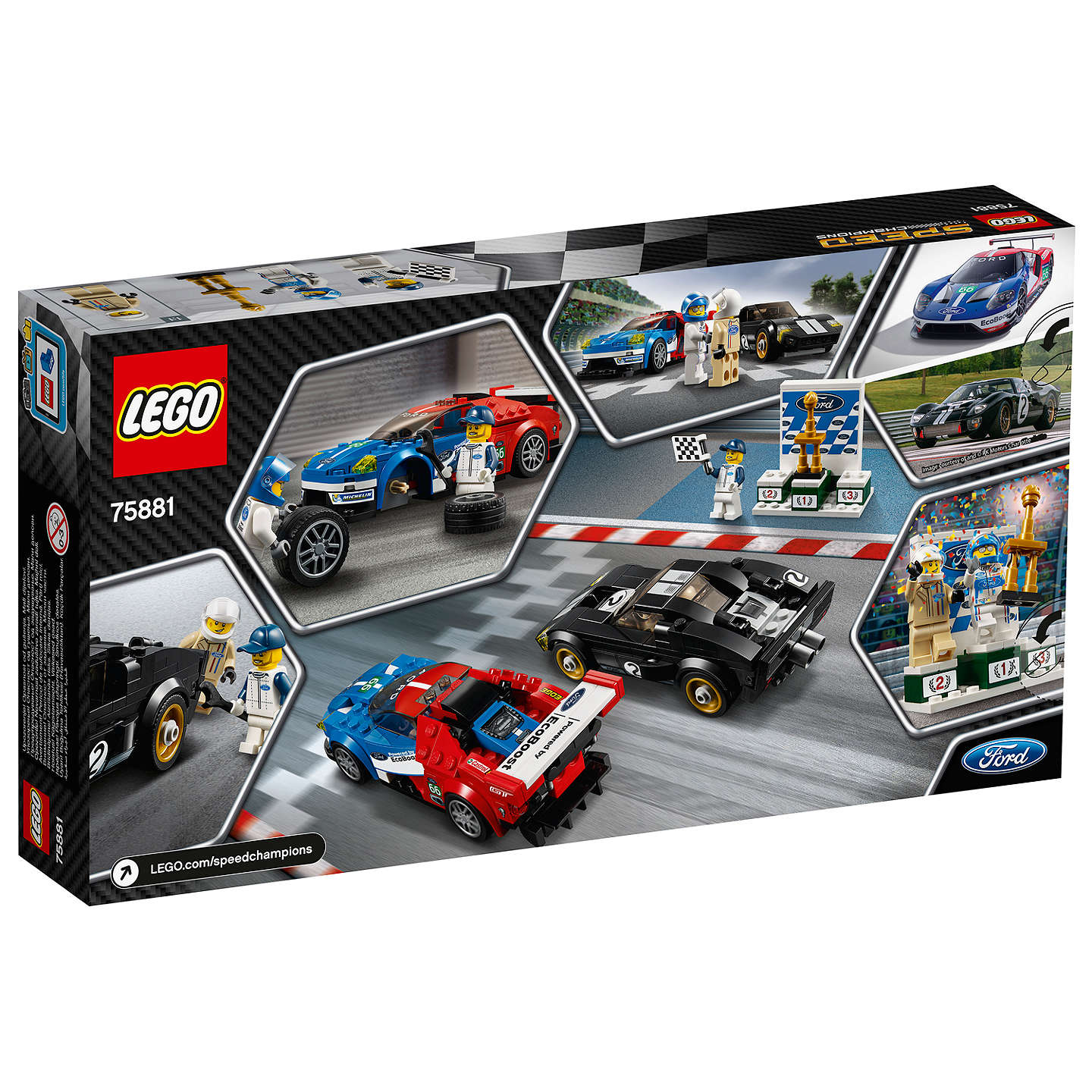 Buylego Speed Champions  Ford Gt  Ford Gt Online At Johnlewis