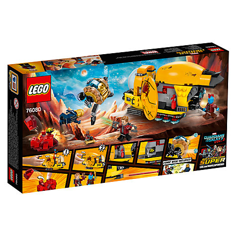 Buy LEGO Marvel Super Heroes 76080 Guardians of the Galaxy 2