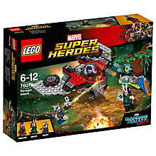 Buy LEGO Marvel Super Heroes 76079 Guardians of the Galaxy 2: Ravager Attack Online at johnlewis.com