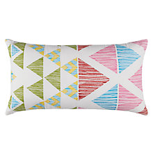 Buy little home at John Lewis Geo Cushion Online at johnlewis.com
